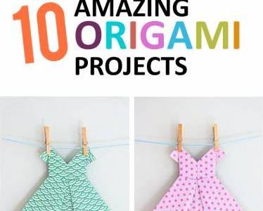 10 Amazing Origami Tutorials for Scrapbooks