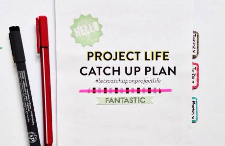 How to Catch Up on Project Life