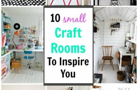 10 Small Craft Spaces to Inspire You