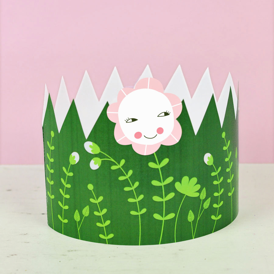 Printable Spring Mother Day Crown