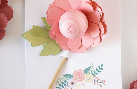 Mother's Day EOS Flower Gift + Printable Card