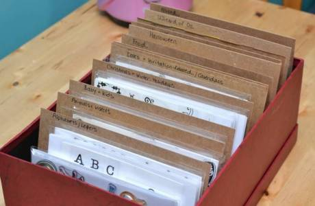 Get Organized | Clear Stamp Storage