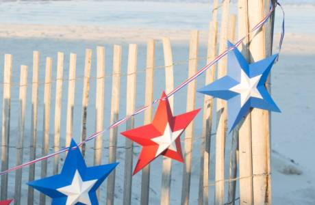 Easy 4th of July Star Banner with Cut File