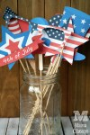 Printable 4th of July Photo Booth Props