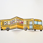 School Bus Of Friends Printable