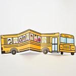 School Bus Of Friends Printable