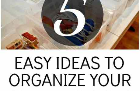 Craft Room Organization: 5 Easy & Creative Ideas to Tidy Up Supplies