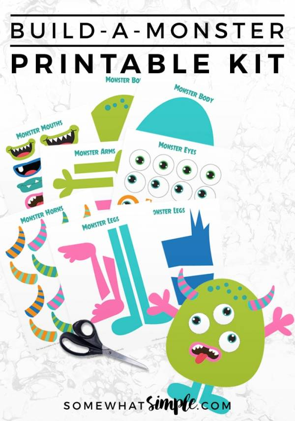 Build A Monster Printable Kit?