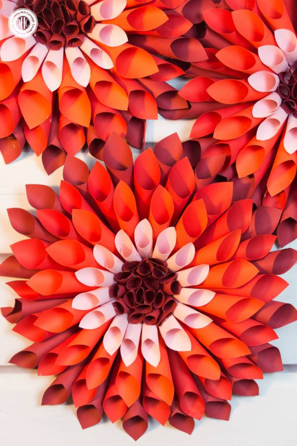Let?s Craft Giant Paper Dahlias?