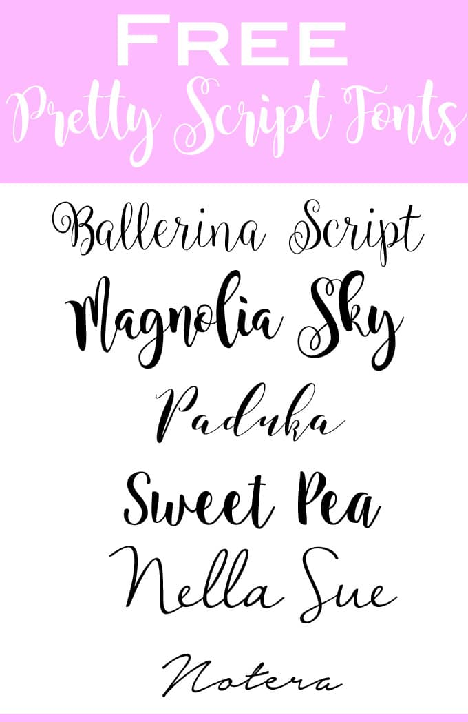 DIY Table Place Cards With Pretty HandwritingUsing Script Fonts