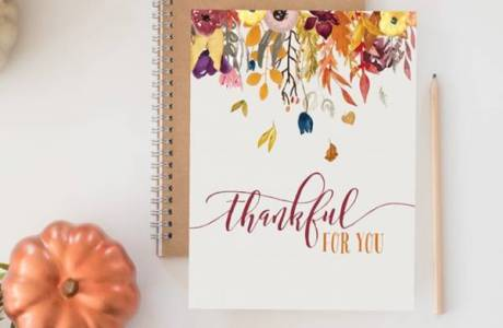 Beautiful Printable Fall Decor in 4 Designs