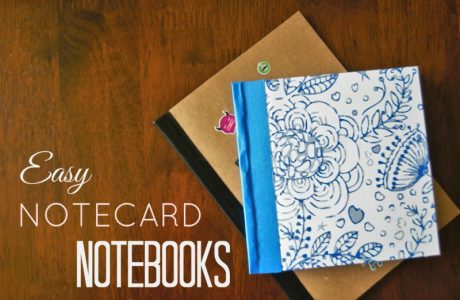 DIY Notecard Notebooks and Minibooks