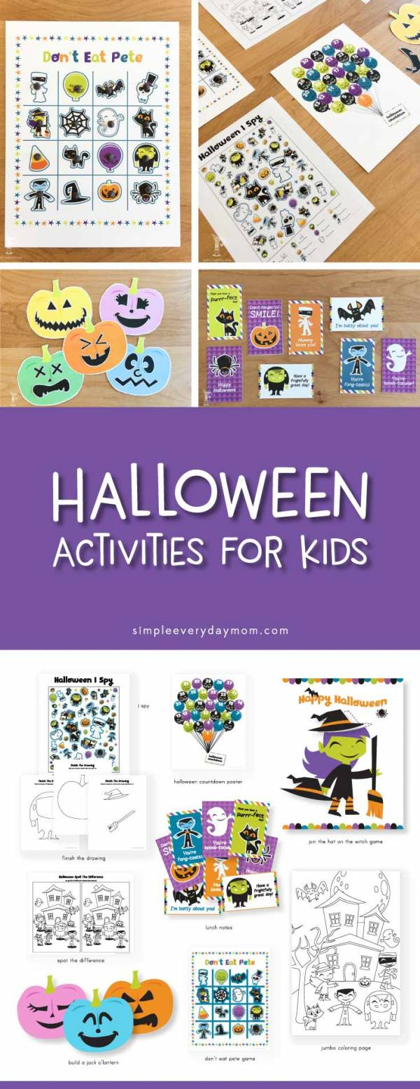 9 Simple Halloween Activities For Kids The Whole Family Will Love