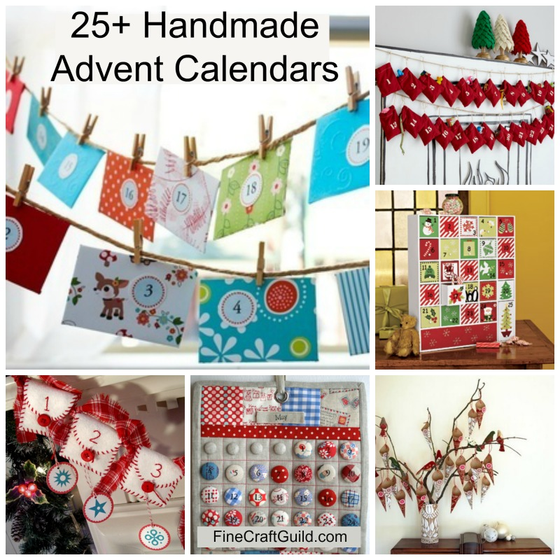25+ Best Homemade Advent Calendars