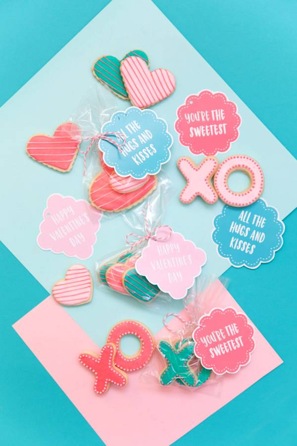 Printable Valentine Tags for all Your Sweet Treats