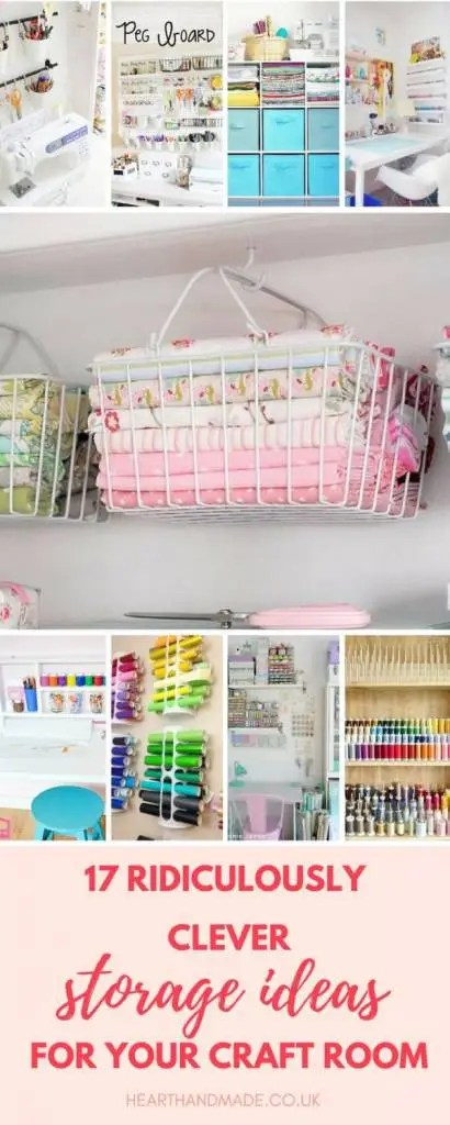 17 ridiculously clever storage furniture ideas for your craft room consider yourself a bit of a craft hoarder dont let your craft studioroom get messy think outside the box and get inspired by these fabulous creative solutioingenieria Gallery