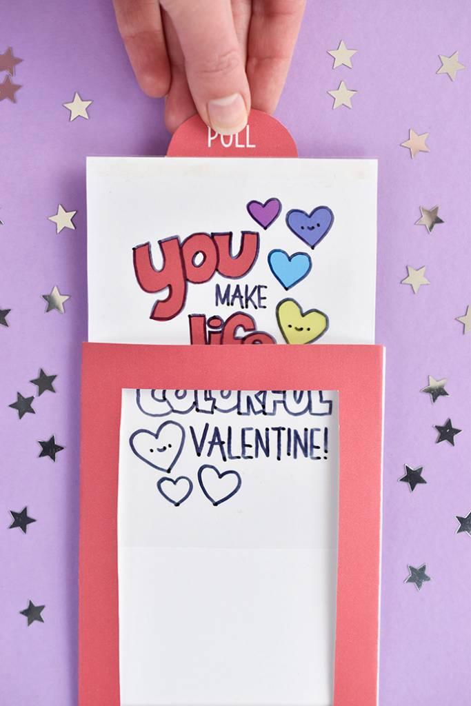 Printable Valentine Magic Trick