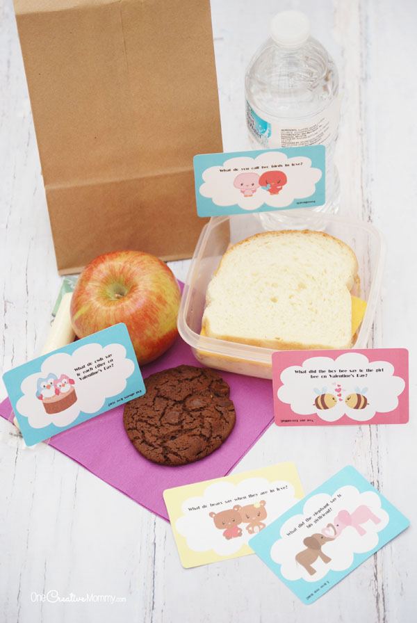 The Cutest Valentine Lunch Box Jokes