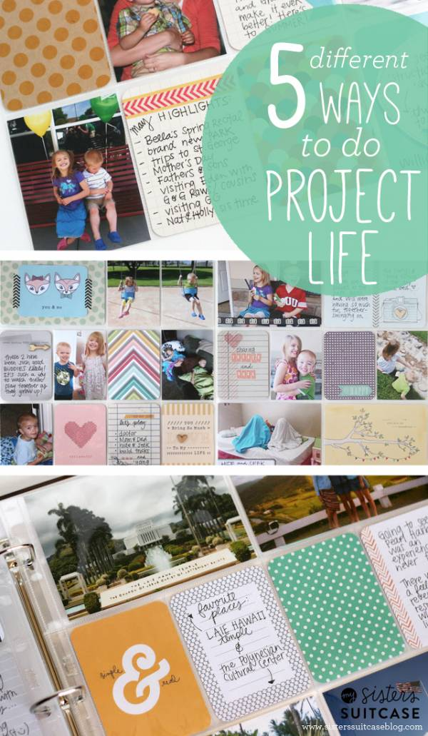 5 Different Ways to do Project Life