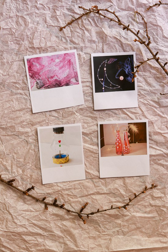 How To Make Faux Polaroids