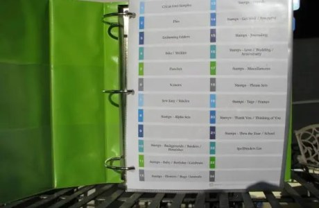 How to Create an Inventory Binder for Craft Supplies