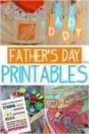 Free Father's Day Printables – Adorable and Creative Dad Gifts