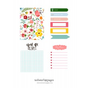 Back to School Journal Cards Printables