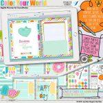 Color Your World Digital Planner