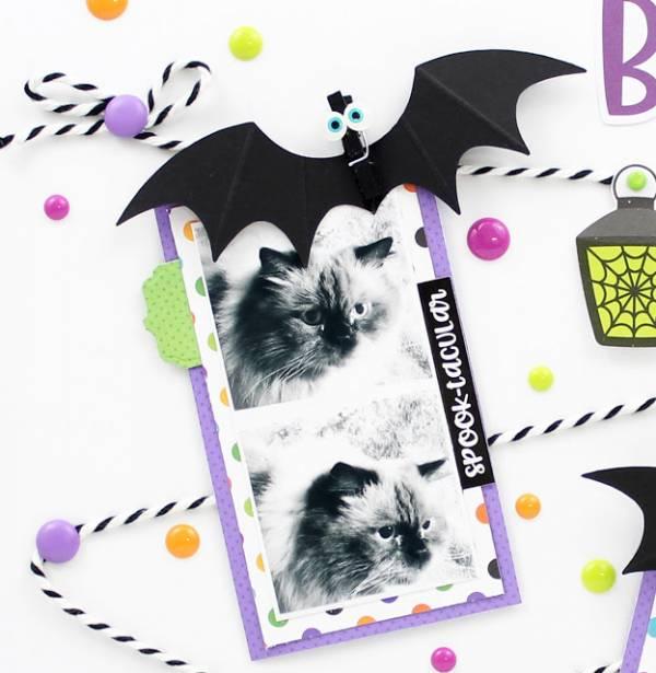 Bat Clip Embellishments