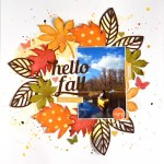 Fall Wreath Layout