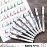 Nuvo Brush Script Markes Tips