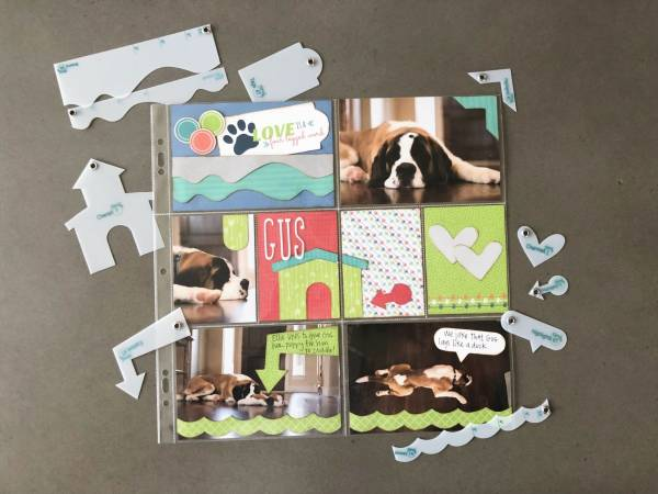 Use Card Kits for Pocket Pages