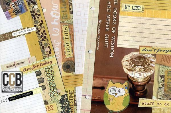 DIY Custom Planner Pages