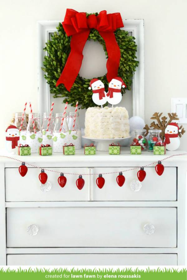 Snowman Party Decor