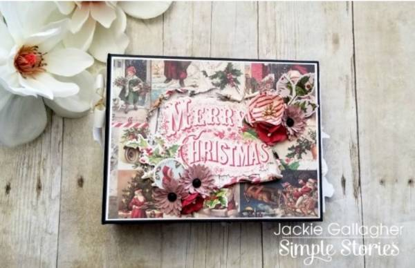 Vintage Christmas Mini Album