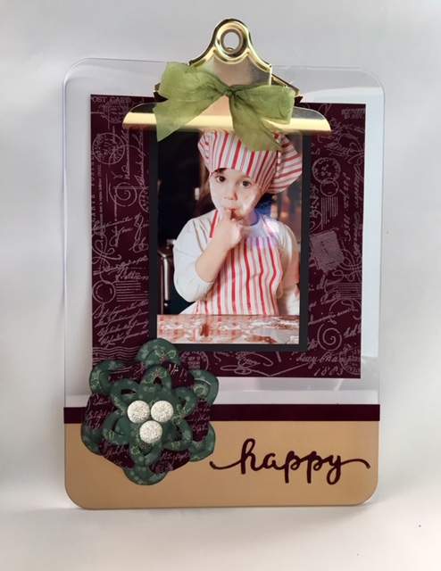 Photo Clipboard Wall Hanging