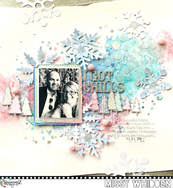 Shimmer Winter Layout
