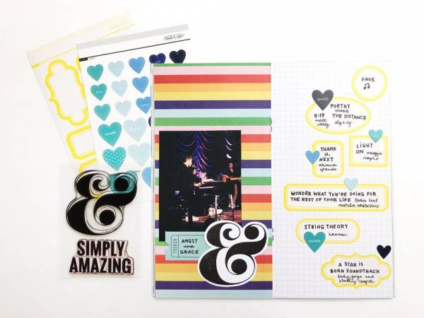 Ideas Using Heart Stickers
