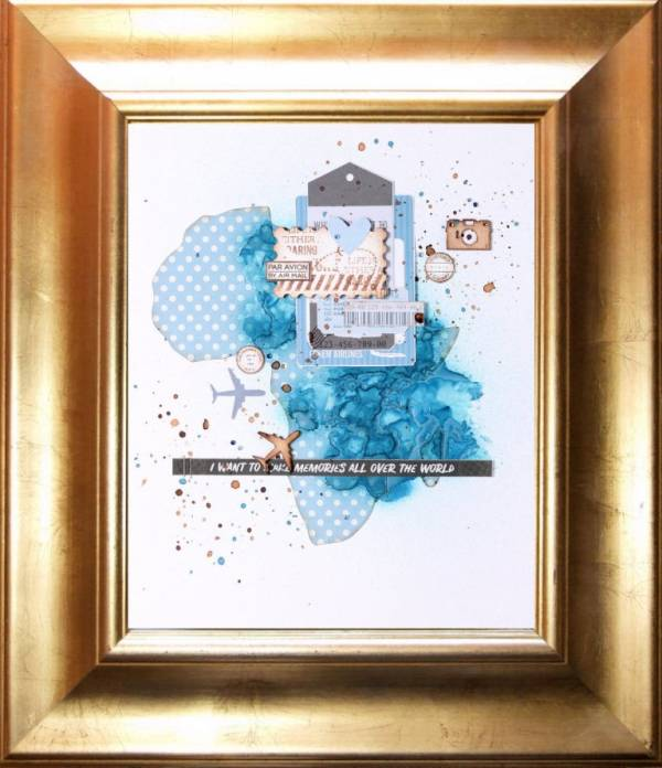 Framed Travel Art