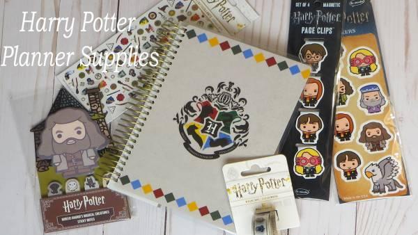 Harry Potter Planner Supplies