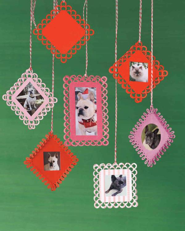 Punched Paper Ornaments