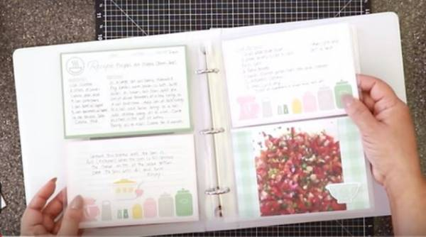 Cooking and Recipe Scrapbook Kit
