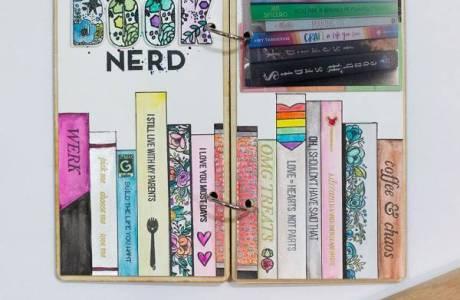Book Nerd Layout