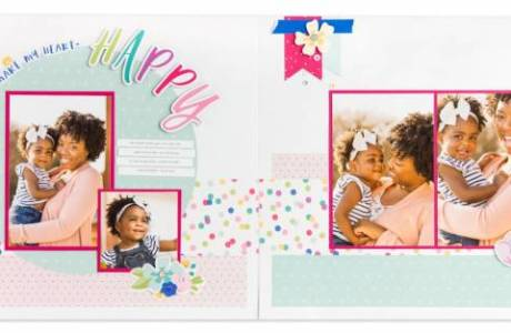 Double Page Scrapbook Patterns