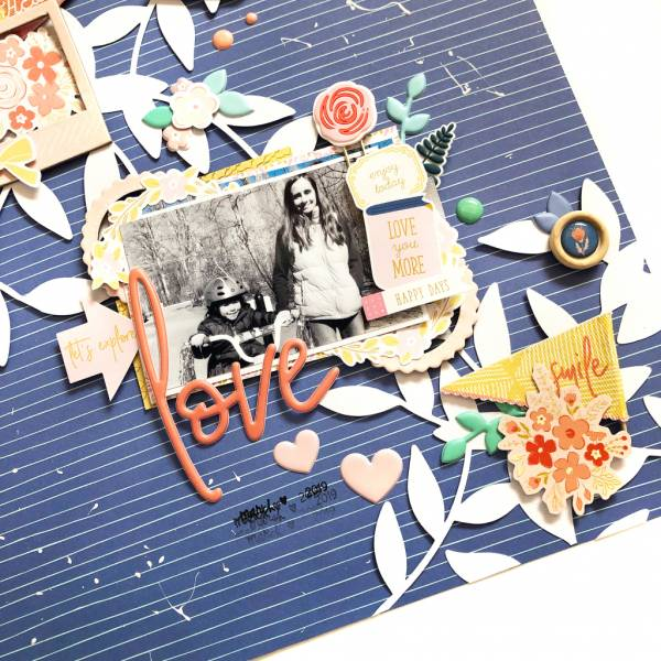 Pages with Floral Cut Files