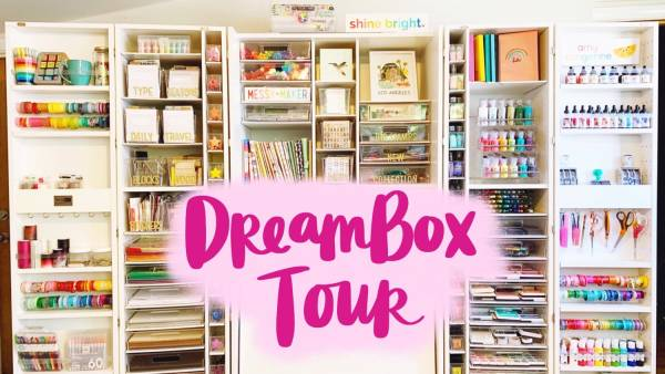 Dreambox Craft Room Tour