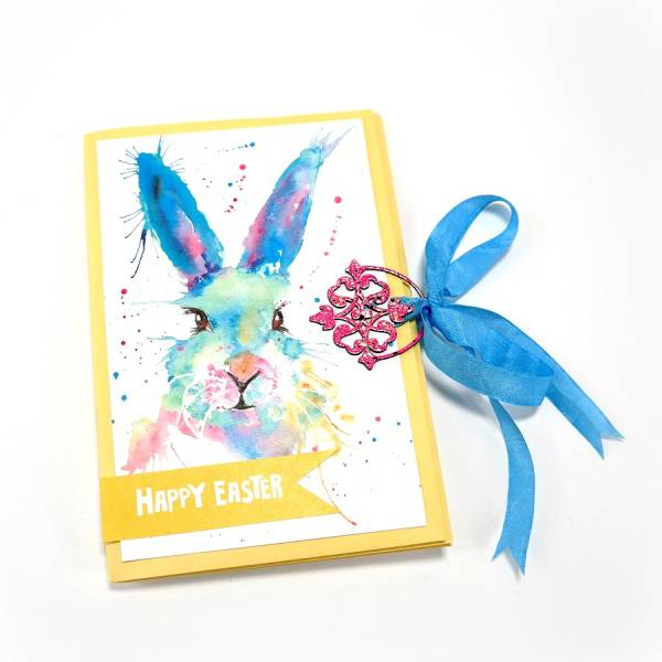 Recycled Easter Cards Mini Album