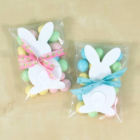 Velvet Bunny Treat Bags