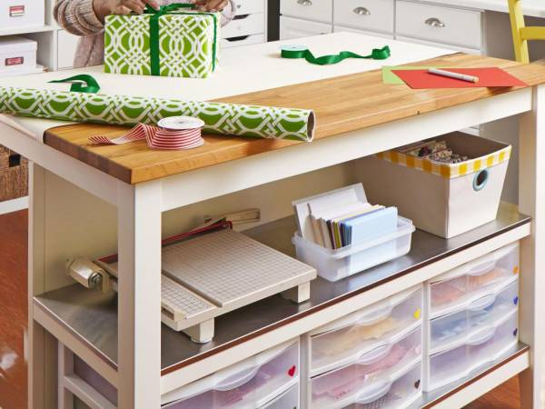 12 Great Craft Room Storage Ideas
