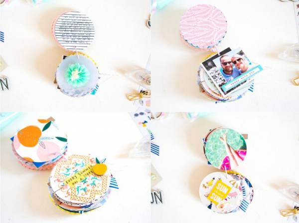 Create a Circle Mini Album
